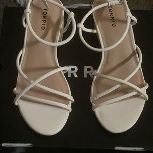 Torrid Woodgrain Block Heels